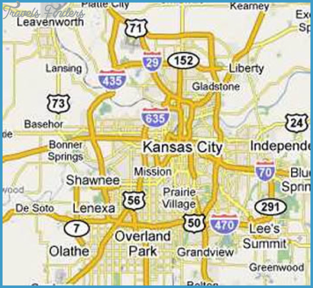Map Of Kansas City Missouri Travel Map Vacations - Map of kansas