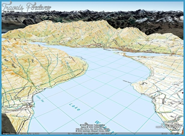 Topographic Map Of New Zealand.New Zealand Topo Maps Travelsfinders Com