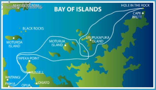 Long bay nz map