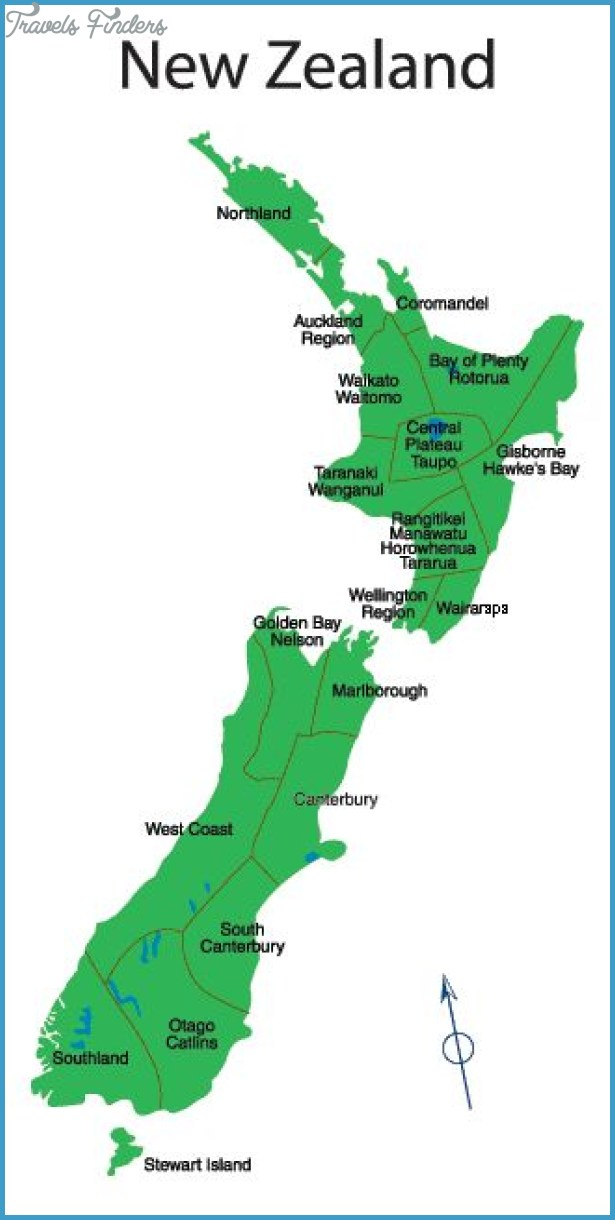 Nelson New Zealand Map TravelsFindersCom