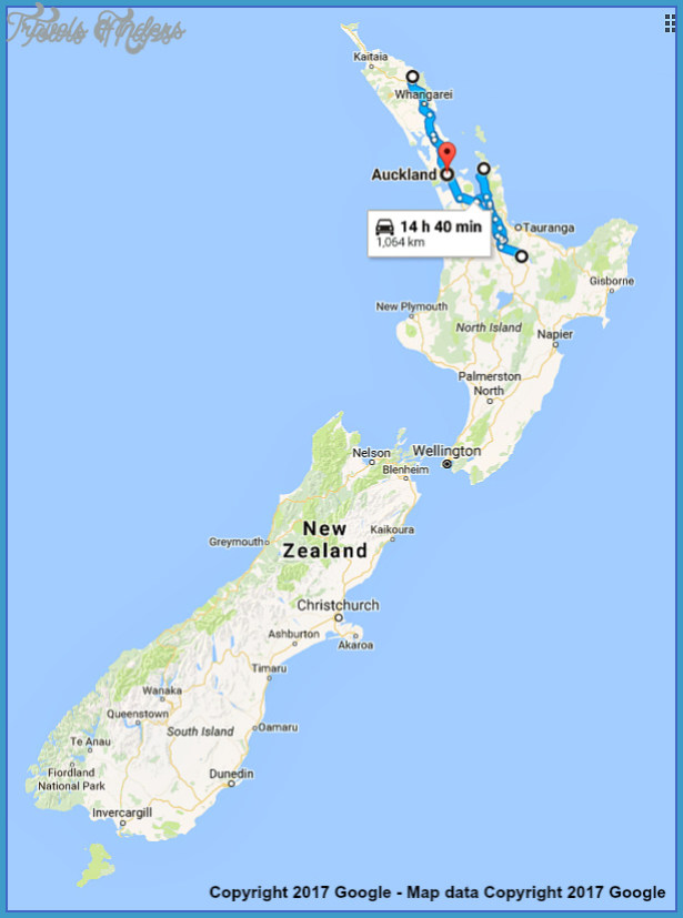 New Zealand Map Google.Google Maps New Zealand Travelsfinders Com