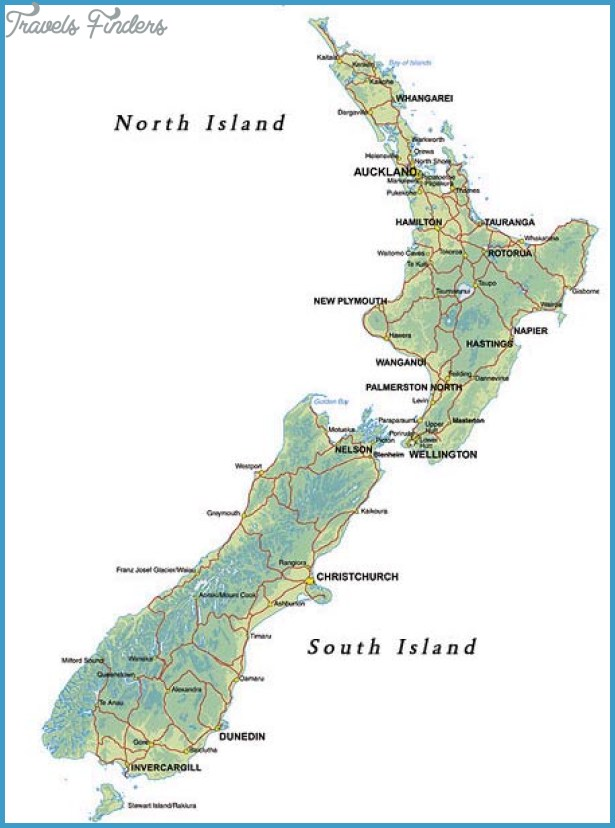 It's just a photo of Mesmerizing Printable Map of New Zealand