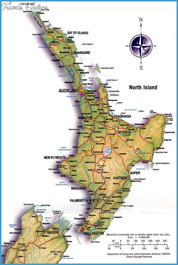 Map of north island new zealand travelsfinders click to on photo for next map of north island new zealand images gumiabroncs Gallery