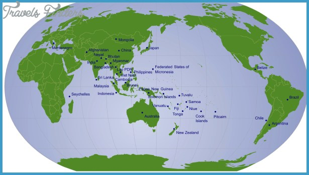 New Zealand Map In World Map.New Zealand Location On World Map Travelsfinders Com