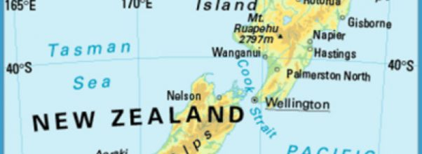 Where Is New Zealand Located In Relation To Australia Archives - Where is new zealand located