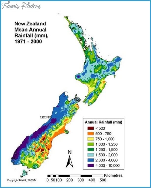 New Zealand Elevation Map Travelsfinders Com
