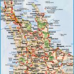 Road Map North Island New Zealand.Map Of New Zealand North Island Travelsfinders Com