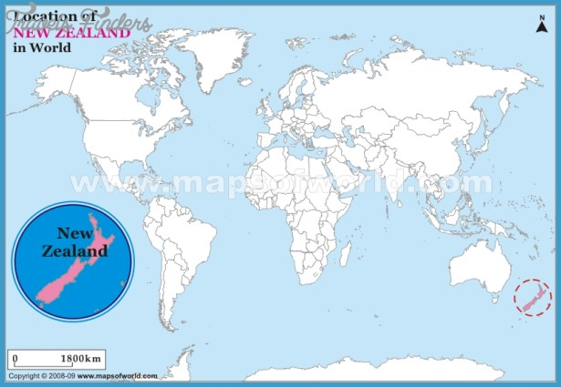 w5hoy Where Is New Zealand Located On A Map