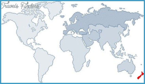 New Zealand On A World Map Travel Map Vacations - World map new zealand