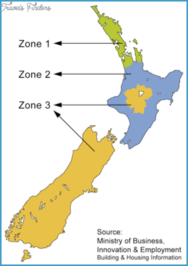Climate Map Of New Zealand TravelsFindersCom - New zealand map png