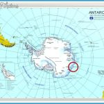 Antarctic Circle Map - TravelsFinders.Com ®