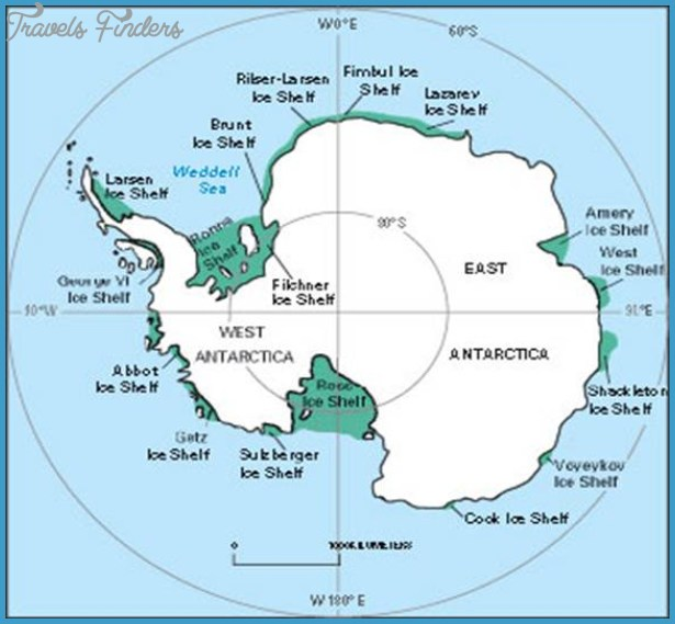 Where Is The Antarctic Circle Located On A Map ...