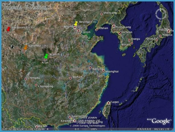 china map google images