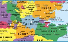 Map Of Uk Towns And Cities.Map Of England With Towns And Villages Archives Travelsfinders Com