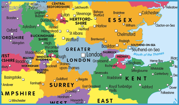 Map Of The Counties In England.England Map With Counties Travelsfinders Com