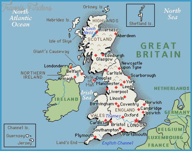 Map Of England Time Zones.England Time Zone Map Travelsfinders Com