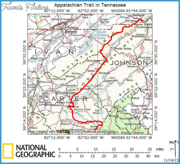 Appalachian Trail Georgia Maps – Jerusalem House on