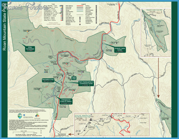 Brown County Hiking Trail Map Travelsfinders Com