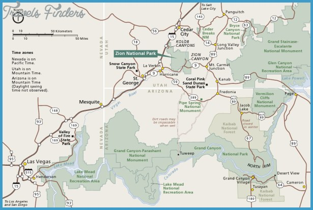 Bryce Canyon Hiking Map Pdf TravelsFindersCom