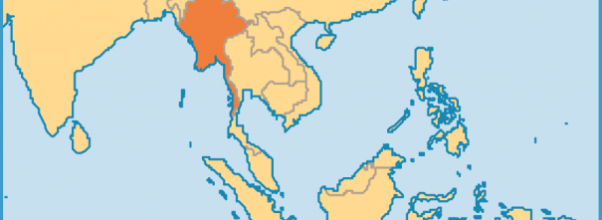 Archives Where Is Burma Located In India TravelsFindersCom - Burma in world map