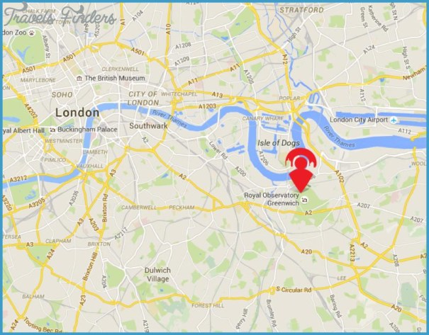 Google Map Of London.Google Maps Greenwich London Travelsfinders Com