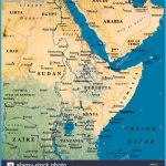 map-maps-africa-saudi-arabia-A8BN33.jpg