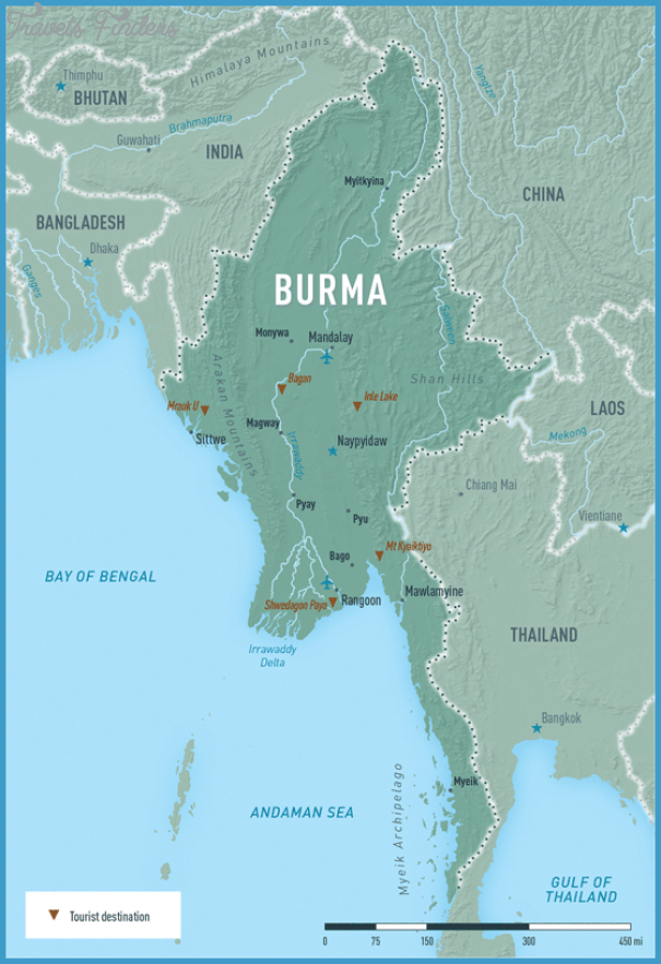 Myanmar world map travelsfinders myanmar world map1g gumiabroncs Image collections