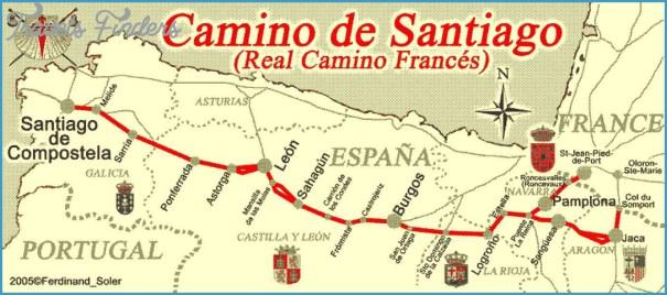 Santiago Subway Map.Santiago De Compostela Metro Map Travelsfinders Com