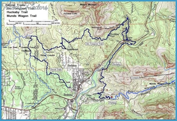 sedona hiking maps 3 Sedona Hiking Maps