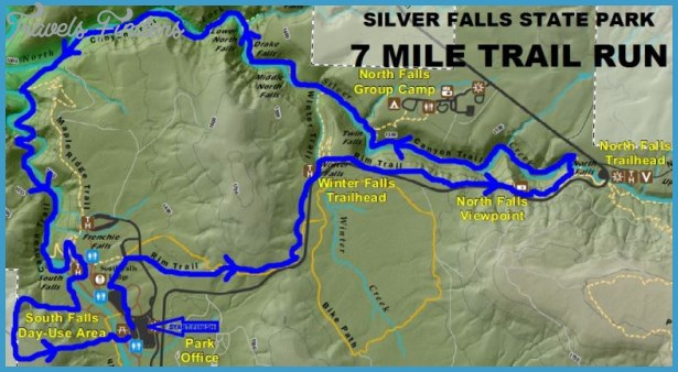 silver falls hiking trail map 12 Silver Falls Hiking Trail Map