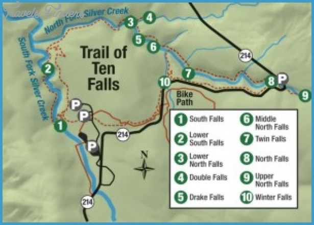 silver falls hiking trail map 14 Silver Falls Hiking Trail Map