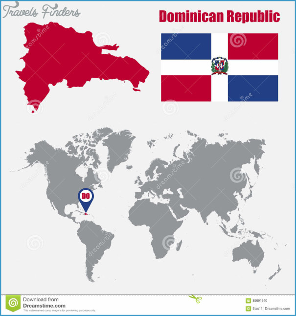 The Dominican Republic Map In World Map_8.jpg