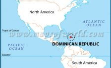 dominican republic world map Archives - TravelsFinders.Com ®