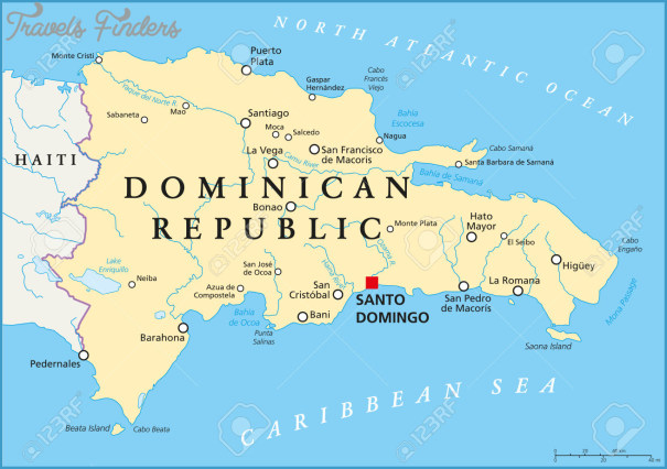 The Dominican Republic Map With Cities _11.jpg