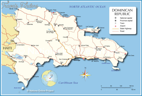 The Dominican Republic Map With Cities _3.jpg