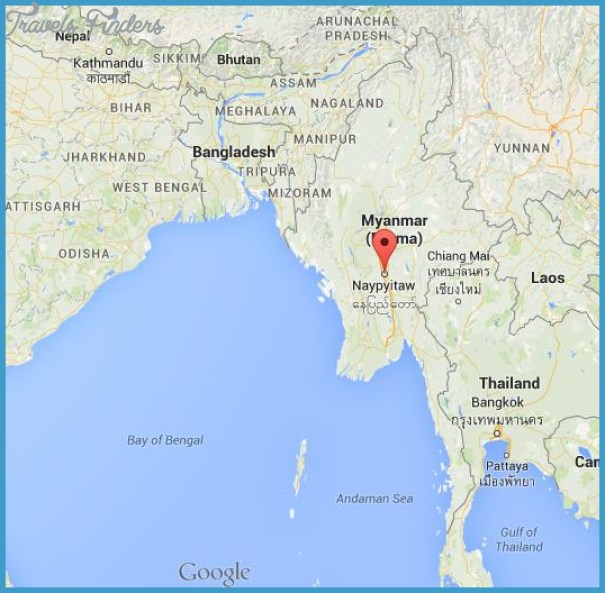 Where Is Myanmar Located On A Map TravelsFindersCom - Where is myanmar