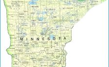 road map of minnesota Archives - TravelsFinders.Com ®