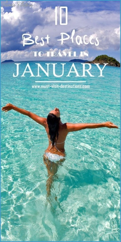 Best January 2015 Fashion Magazine Covers: Best Travel Destinations In January
