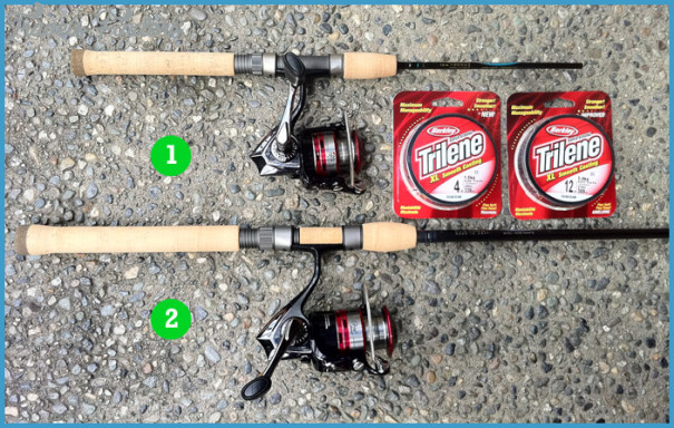 How To Set Up A Spin Cast Pole For Trout Fishing