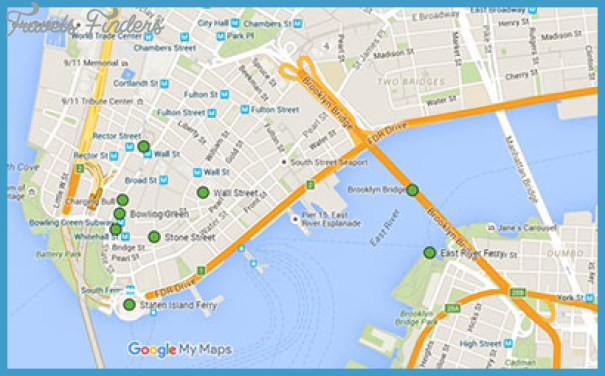 map of brooklyn bridge area Brooklyn Bridge Map Travelsfinders Com map of brooklyn bridge area