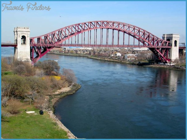 hell gate bridge triborough 7apr02 HELL GATE BRIDGE MAP