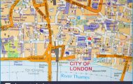 street-road-map-of-the-city-of-london-uk-BF1D5K.jpg