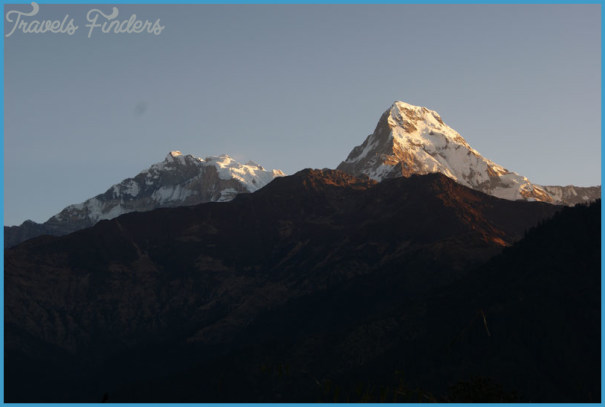 Trekking to Poon Hill Viewpoint for Sunrise view of Annapurna One Annapurna Fang Nepal Hike_0.jpg