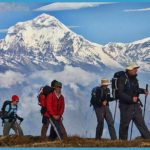Trekking to Poon Hill Viewpoint for Sunrise view of Annapurna One Annapurna Fang Nepal Hike_8.jpg