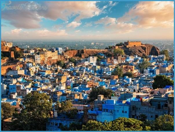 Why is Jodhpur the Blue City Blue Jodhpur Fort Rajasthan India Travel  India_13.jpg