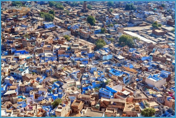 Why is Jodhpur the Blue City Blue Jodhpur Fort Rajasthan India Travel  India_4.jpg