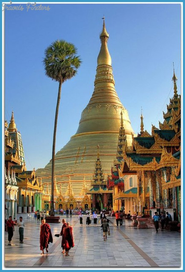 Yangon in Myanmar Burma Shwedagon Pagoda Kandawgyi Lake park street markets and Myanmar food_3.jpg