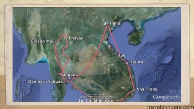 Travel to Thailand Vietname From Siam to Saigon