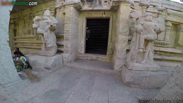 hampi part 4 achyutaraya temple chakratheertha riverside ruins 14