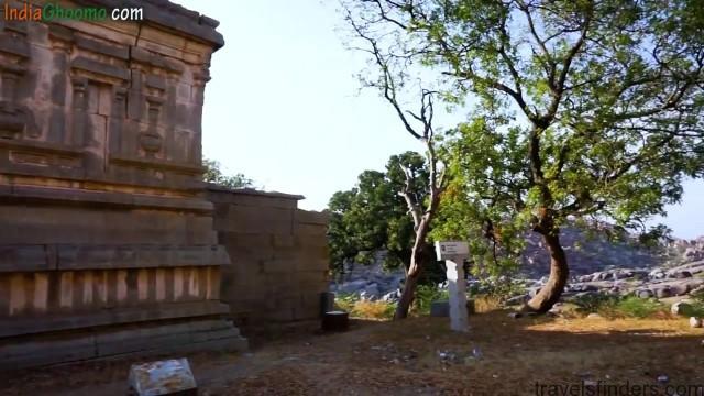 hampi part 4 achyutaraya temple chakratheertha riverside ruins 22
